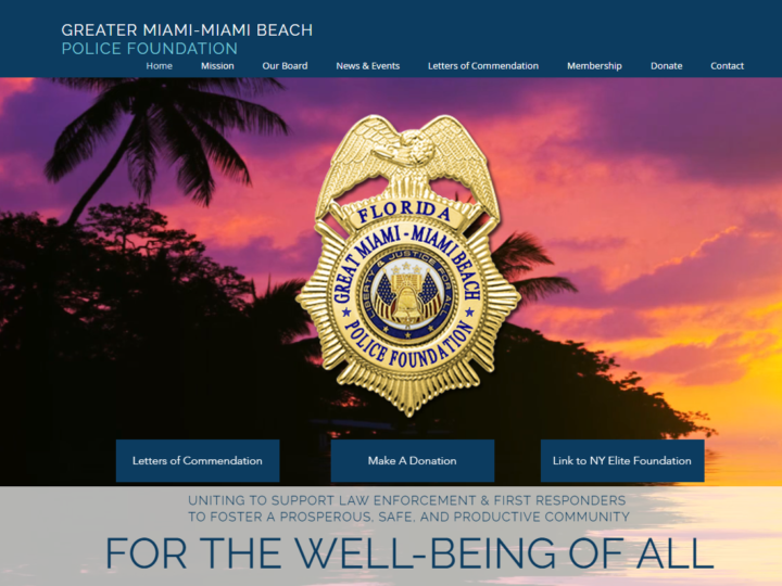 GREATER MIAMI-MIAMI BEACH POLICE FOUNDATION | ATV DONATION