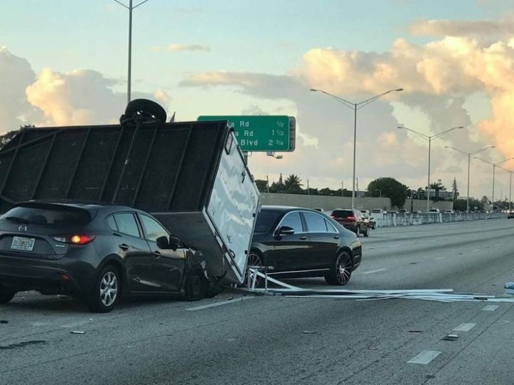 I-95 reopens after crash at Lantana Road | Local News Shared By West Delray Collision