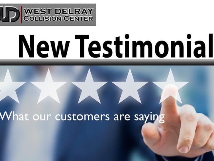 YELP | TESTIMONIAL | West Delray Collision Center
